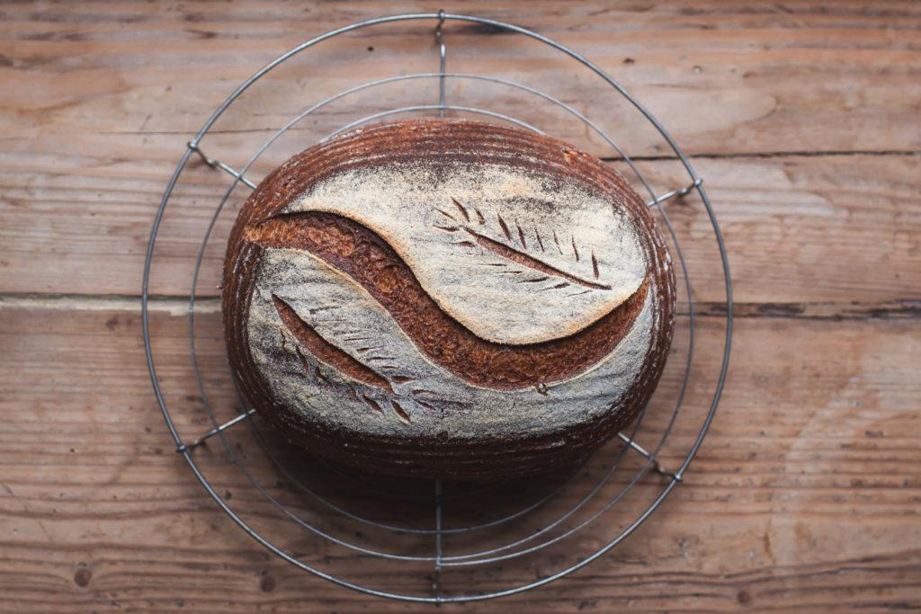Pain artisanal au levain, biologique et sans gluten